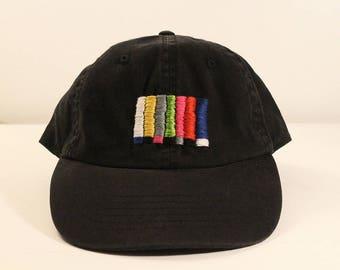 Embroidered TV Glitch Hat