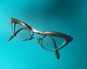 Cat Eye Glasses, S/C Cat Eye Glasses, Vintage Eyewear, S/C USA, Cat Eyeglasses, 50s Pin Up, Vintage Eyeglasses, Retro Eyeglasses, Shuron
