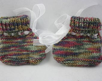 baby booties, booties, hand knit booties, knit booties, washable wool booties, wool booties, hand knits,