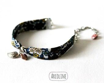 Bracelet Liberty silver charm leaf °