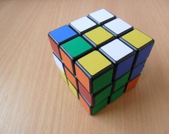 Vintage RUBIK's cube 3x3x3 Brain-Teaser PUZZLE USSR