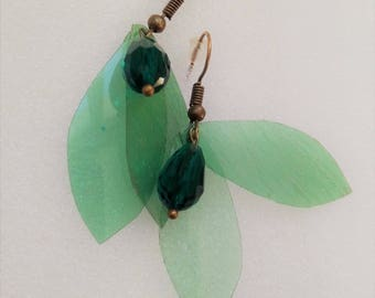 The little green fairy earrings