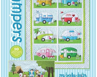 CAMPERS Quilt Pattern by Amy Bradley Designs ABD 269