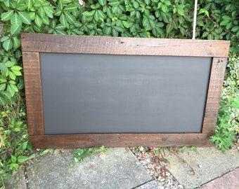 rustic chalkboard menu pine chalkboard kitchen chalkboard