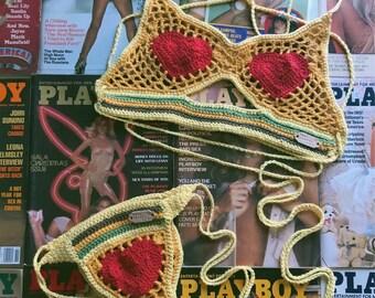 Honey Love Crochet Set
