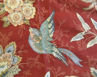 Upholstery Cotton FABRIC ~~ 70's Cotton Upholstery/Drapery Fabric ~~ Never Used ~~ Over 3 yds