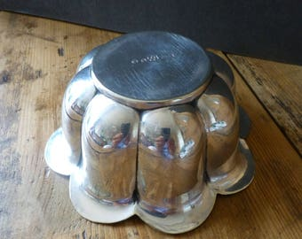 Silver Plated Jelly Mould