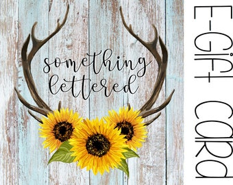 Gift Card, Gift Certificate, Shop Credit, Present, Printable