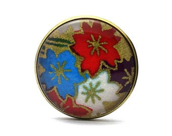 Floral Bohemian ring