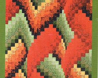 Gridlocked Bargello Quilt Pattern by Fabric Therapy
