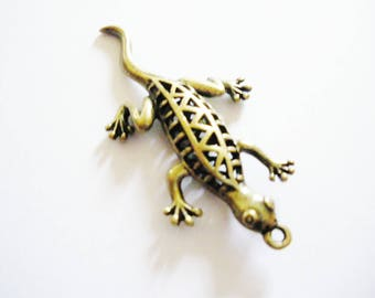 1 pendant salamander 52 mm x 27 mm
