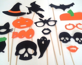 "Accessories photobooth x 15 ""halloween theme"""