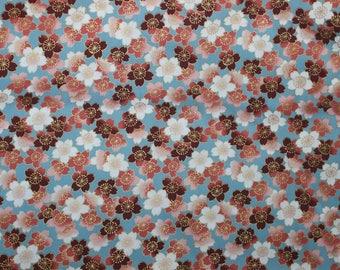 Kona Bay Fabrics 2012:  Design KOIG-04; metallic; 1/2 yard woven cotton fabric