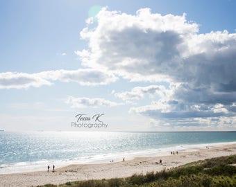 Cottesloe Beach #2, Fine Art Photography Print, Multiple Sizes, Beach Photography