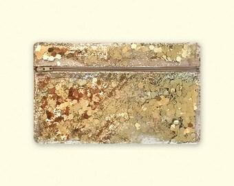 Makeup Bag Glitter Zipper Bag, Vinyl Bag Transparent, Clear Glitter Bag Confetti, Sequin Pouch, Vinyl Zipper Pouch, Makeup Bag Organizer