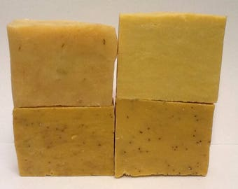 4 Full Size Soap Bars  for 16 dollars Your choice of soap