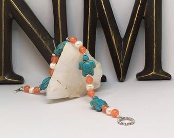 Sea Turtle Beaded Bracelet
