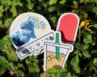 Summer Starter Pack Stickers