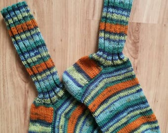 Wool socks, knitted socks, women clothing, warm feet, warm socks, winter socks, skiing socks, hand knit socks, cold feet, colorful socks