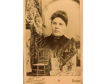 Interesting and odd cabinet card