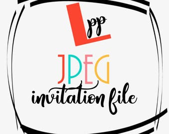 JPEG Invitation File