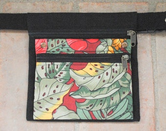 Jungle pattern fabric Fanny Pack for girl