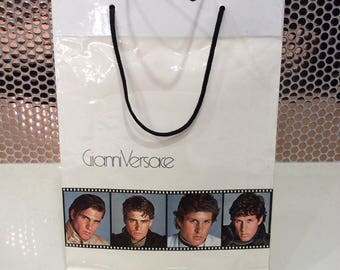 Vintage 80's GiNni Versace Shopping Bag