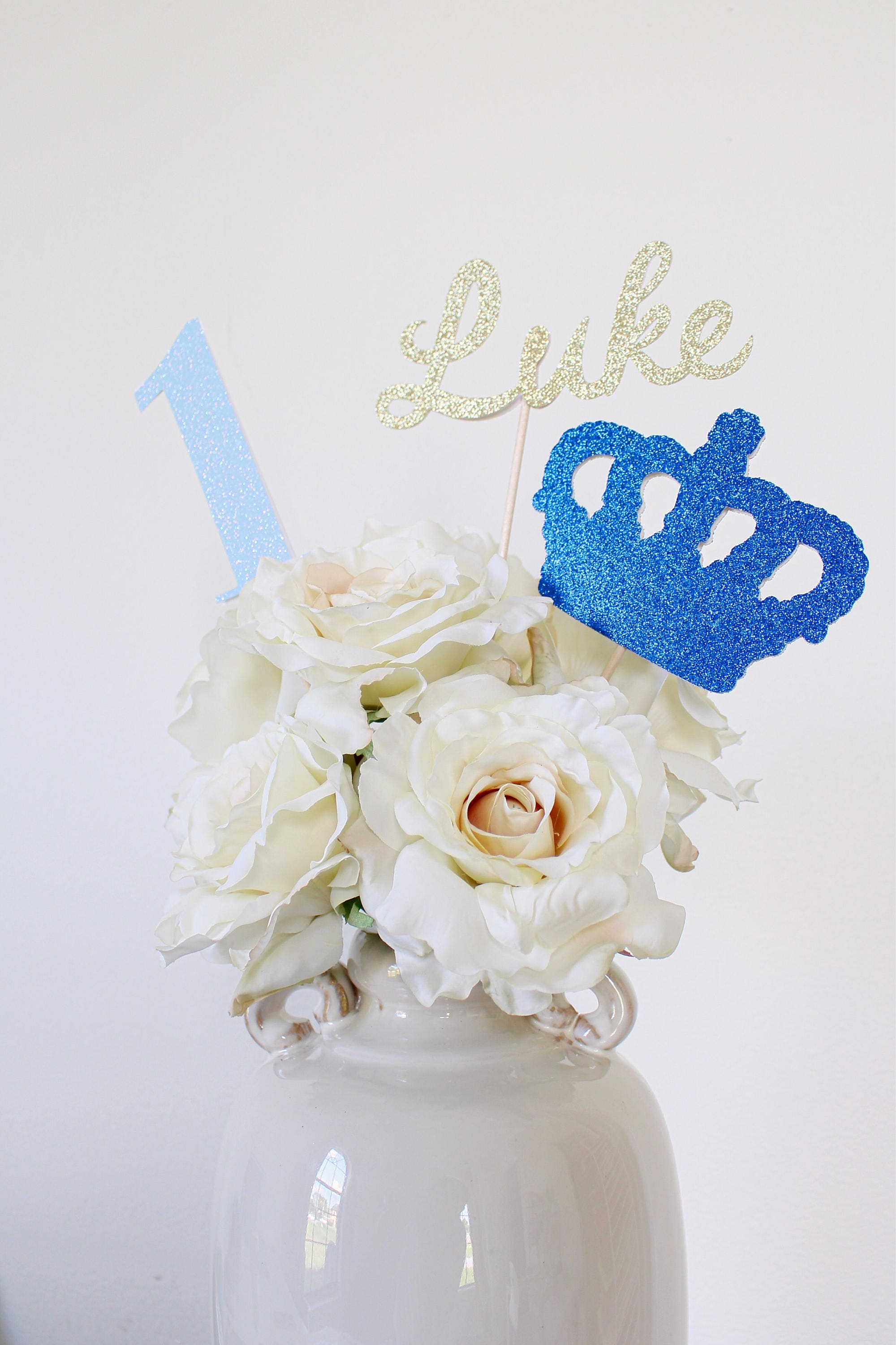 Royal Baby Shower Centerpiece - Royal Baby Shower Decorations ...
