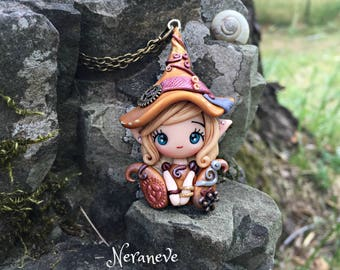 Steampunk Collection handmade necklace