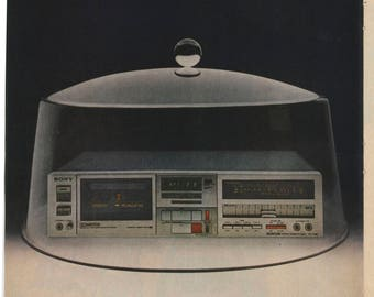 Sony TX-FX6C Cassette Deck Ad (81-PE-04AB)