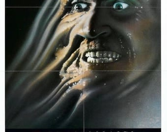 Back to School Sale: FROM BEYOND Movie Poster 1986 H.P. Lovecraft