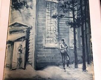 Ethan Frome: A dramatization of Edith Wharton's novel 1936 First Edition