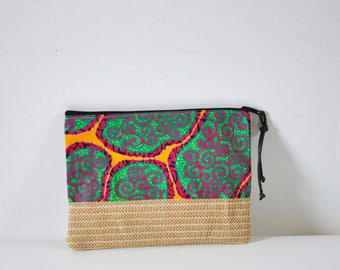 pouch clutch makeup bag