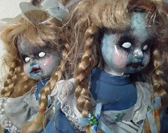 HAUNTED DOLL!!!  Possessed Conjoined Twins Doll! Free Shipping in USA!  Wow!