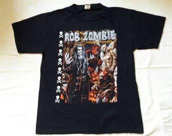 Vintage 90's Rob Zombie T Shirt.
