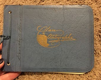 1920s Class Autographs book