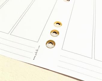 FOILED Sprinkles - Hole reinforcers - Planner Stickers - Erin Condren - Plum Paper - Kikki K - Paperchase - Filofax