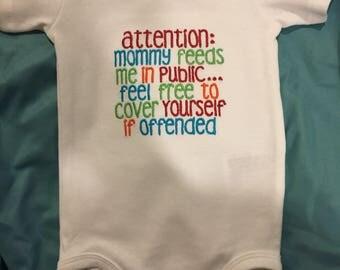 Breastfeeding Onesie
