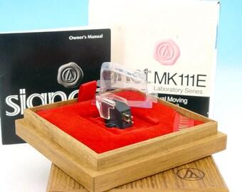 Audio Technica SIGNET MK111E Laboratory Series Dual Moving Micro Coil Stereo Phono Cartridge Diamond stylus Beryllium Cantilever