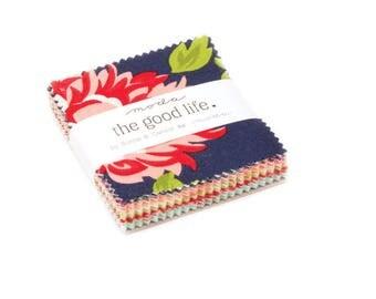 PREORDER The Good Life Mini Charm - Moda Quilt Fabric - Bonnie & Camille