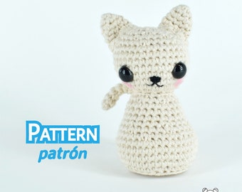 Cat, kitty, crochet cat, stuffed cat, amigurumi pattern, cat pattern, amigurumi cat, amigurumi, crochet amigurumi, kitten play, pattern
