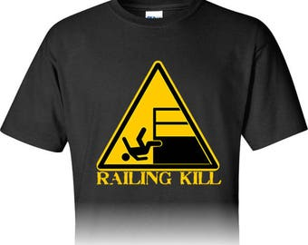 Railing Kill Sign