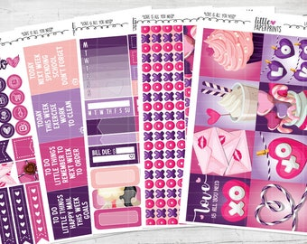 "5 PAGE LITTLE KIT | ""Love Is All You Need"" Glossy Kit 