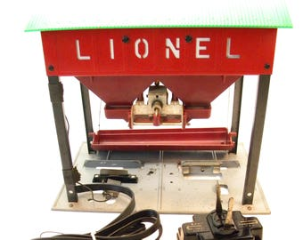 Lionel 497 Coaling Station with Original Controller  1953-1958   Original Postwar O Gauge