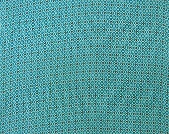 """Printed Fabric, Blue Color, Dressmaking Fabric, Sewing Crafts Accessories, 44"""" Inch Cotton Fabric By The Yard ZBC7993A"""