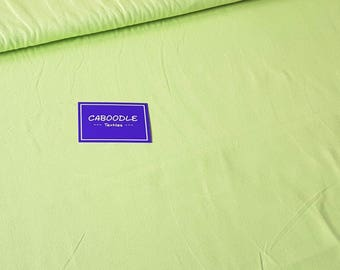 Lime Green, Cotton Lycra Jersey Knit Fabric