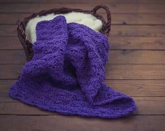 baby blanket/basket filler/chunky baby blanket/newborn photo prop/newborn prop/photo props baby/photography blanket/chunky crochet blanket