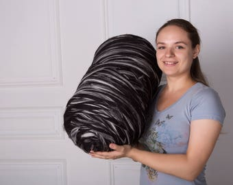 1 lbs/0.5 kg Wool roving. Merino wool. Super bulky yarn. Chunky yarn. Bulky yarn. Giant wool. Jumbo wool. Combed top. Pure fibre. Giant yarn