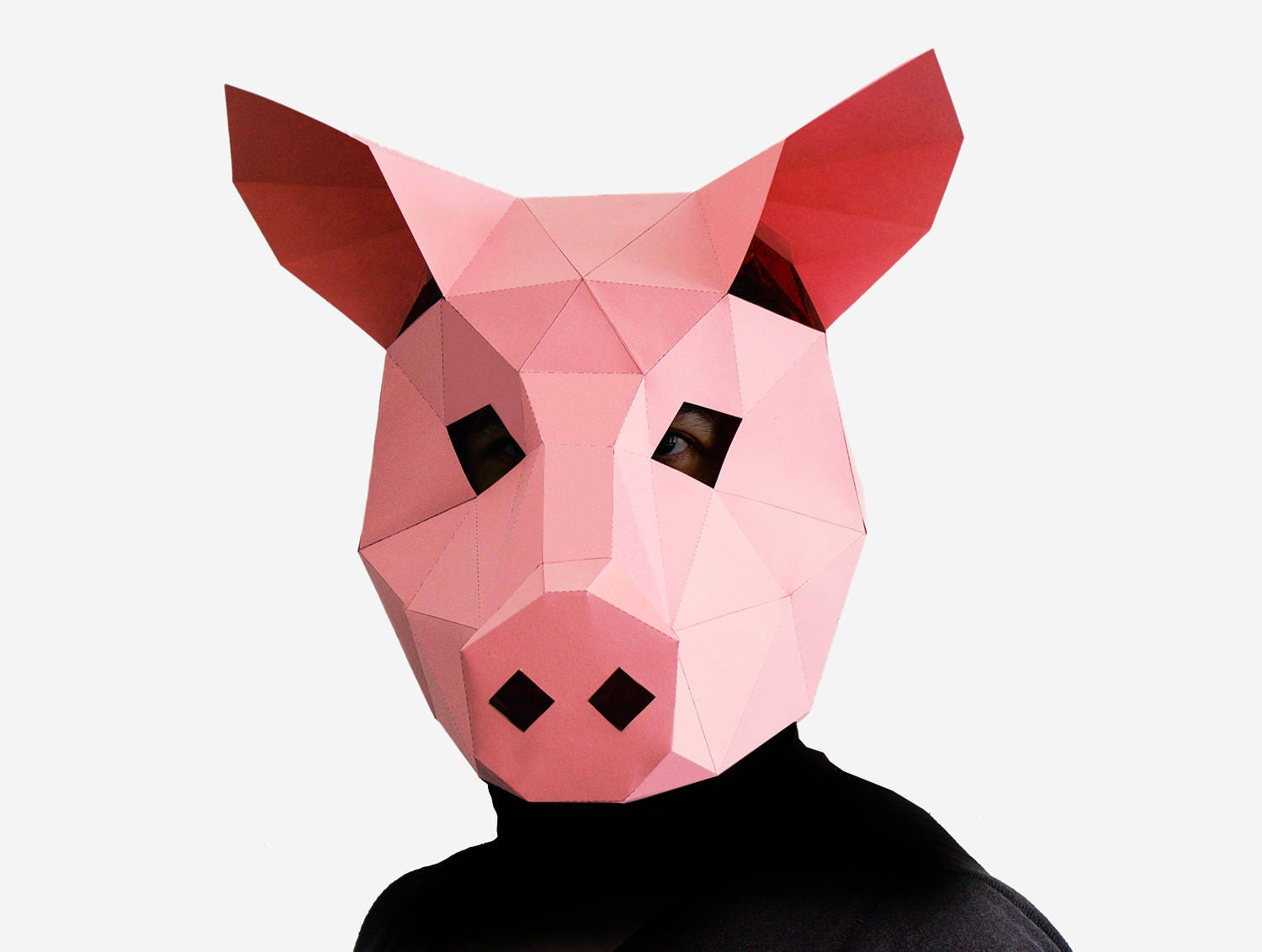 Uncategorized Pig Mask pig mask diy printable animal head instant pdf download diy