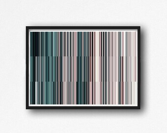 contemporary art, geometric abstract, digital image, abstract , rose and mind , modern abstract, scandinavian art, pink, light pink,teal